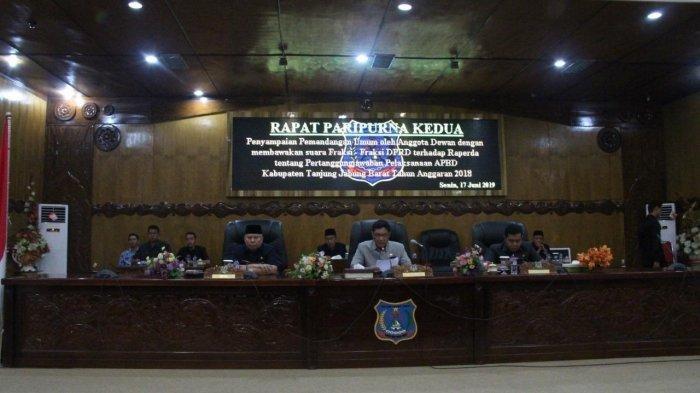 Daftar Nama 35 Anggota DPRD Tanjab Barat Terpilih Periode 2019-2024