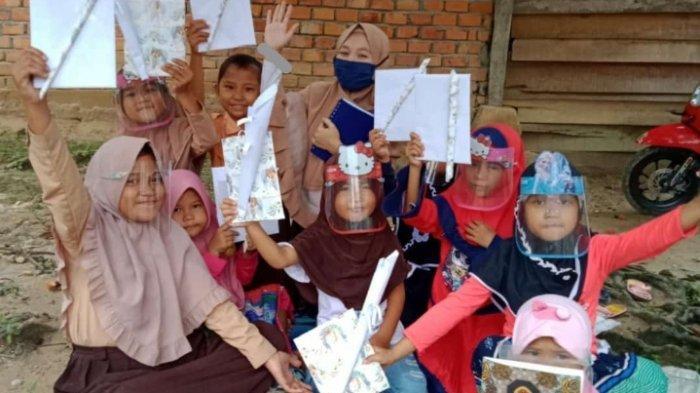 Buat Gerakan BEM FKIP Mengajar, Mahasiswa Unja Beri Pembelajaran di Rumah Untuk 318 Siswa di Jambi