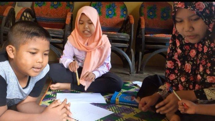 Kegiatan mengajar program BEM Fkip Universitas Jambi