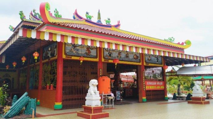 Menyambut Imlek 2021, Klenteng Tri Dharma Cheng Hong Lao, Kota Jambi Sepi Umat yang Datang