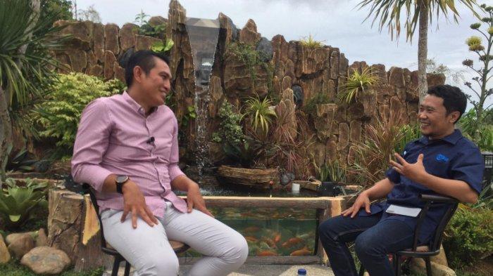 M Fadhil Arief dalam wawancara ekslusif bersama Tribun Jambi.