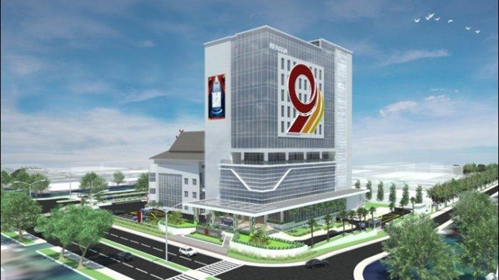 Menara 9, itulah sebutan untuk gedung baru Bank Jambi yang kini tengah proses pembangunan.