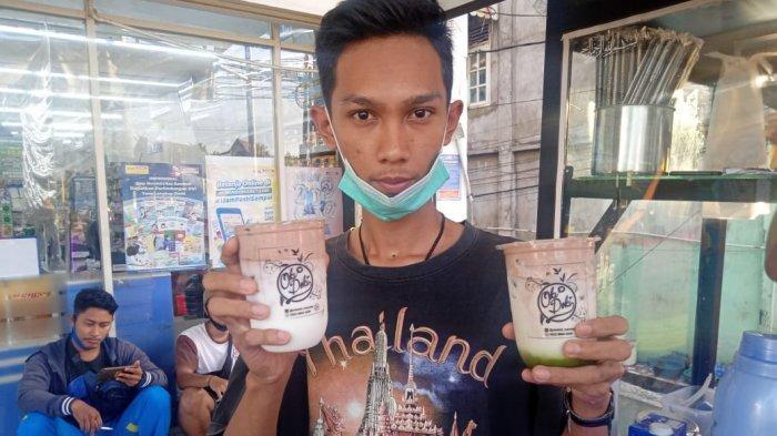 Berawal Dari Keterpaksaan, Hingga Membuat Mulfi Sukses Jadi Penjual Es Kekinian di Kota Jambi