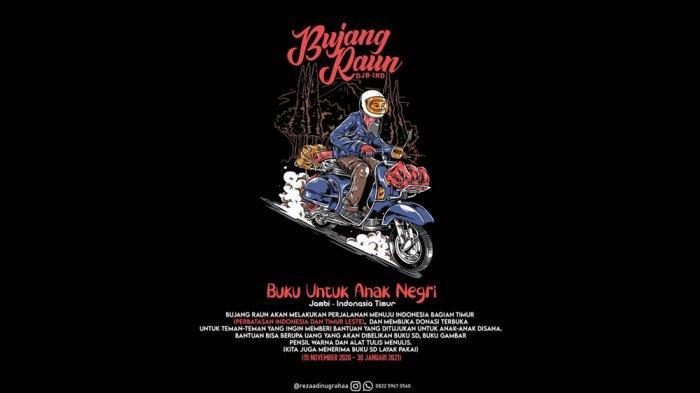 Reza Adi Nugraha akan touring ke daerah perbatasan Indonesia dengan Timur Leste.