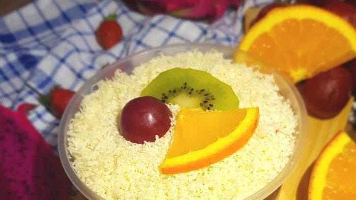 Salad buah  Milla Dwi Astari