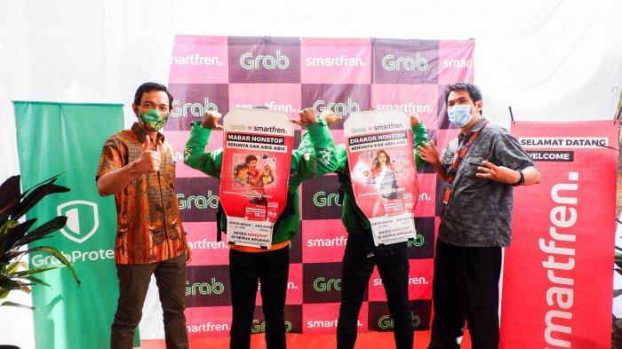 Aplikasi serba bisa terkemuka di Asia Tenggara, Grab, menjalin kolaborasi dengan Smartfren untuk meningkatkan jumlah armada GrabBike Protect di Jateng