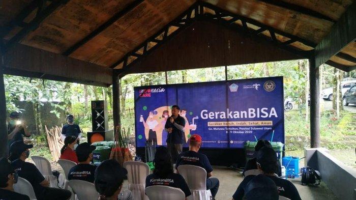 Kemenparekraf/Baparekraf gelar Gerakan Bersih, Indah, Sehat, dan Aman (BISA) di Sulawesi Utara, sebagai upaya meningkatkan kesiapan destinasi wisata.