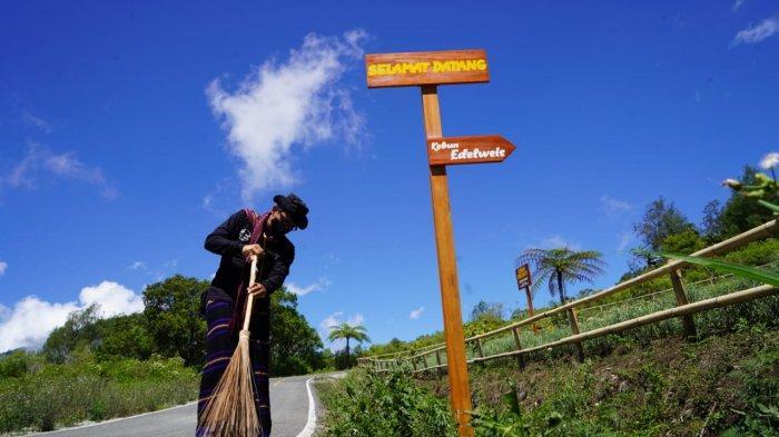Kemenparekraf/Baparekraf berkolaborasi dengan Kemendes PDTT gelar bimbingan teknis peningkatan kapasitas SDM Desa Wisata Pemo di Kabupaten Ende, NTT.