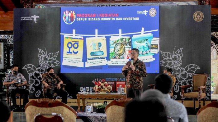 Kemenparekraf/Baparekraf selenggarakan Sosialisasi dan Fasilitasi Pendaftaran Produk Indikasi Geografis Kopi Arabika Pegunungan Dieng Banjarnegara.
