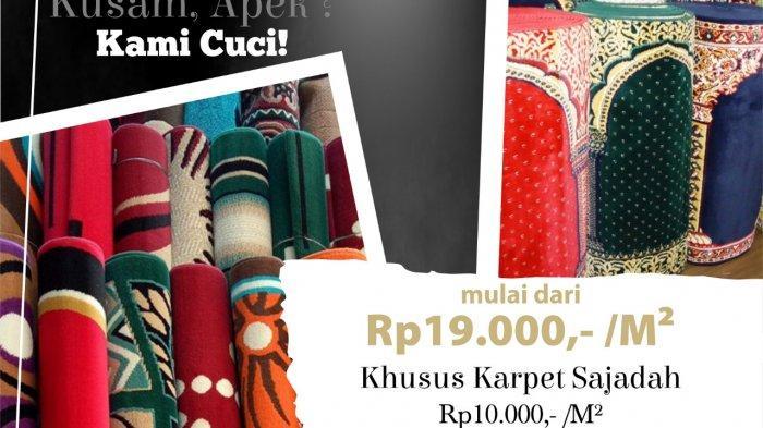 Layanan Membersihkan Karpet Datang ke Rumah Oleh Grand Dafam Q Hotel Banjarbaru, Mulai Rp 10 Ribu