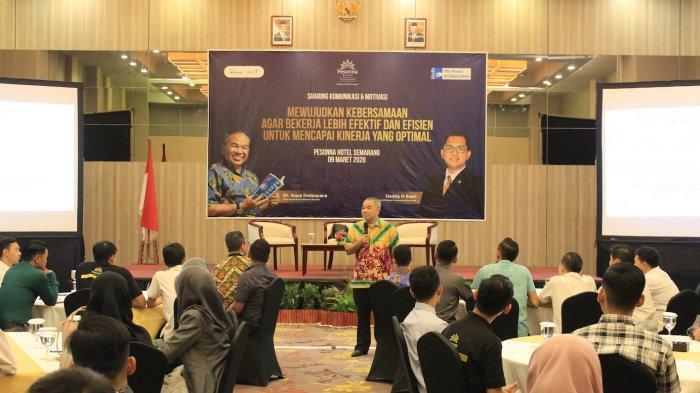 Pesonna Hotel Semarang Adakan Sharing Komunikasi dan Motivasi Agar Bekerja Lebih Efektif dan Efisien