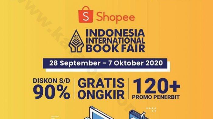 Jangan lewatkan promo buku di Shopee Promo Indonesia International Book Fair (IIBF) Virtual Edition, diskon sampai 90% dan gratis ongkir sampai 23:59.