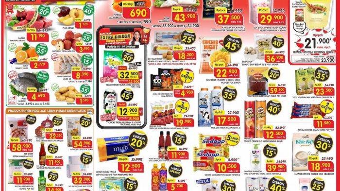 Promo Superindo katalog awal pekan periode 5-8 Oktober 2020 telah terbit, beragam promosi dan diskon menarik ditawarkan selama masa promosi.