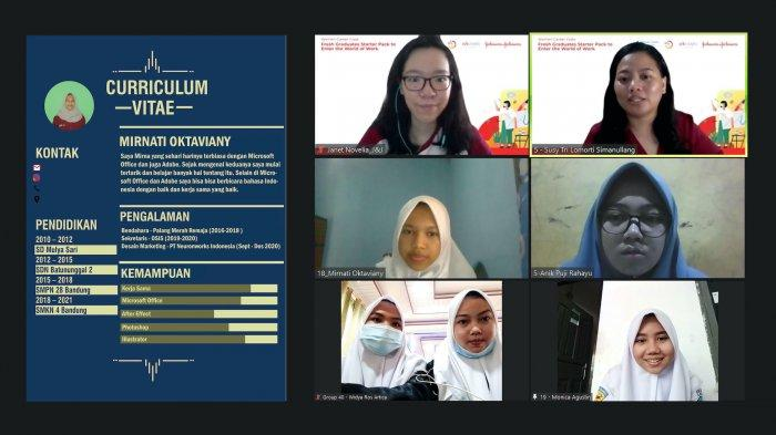 125 siswa SMK dari 10 kota di Indonesia ikuti 'Women CareerClass: Fresh Graduates Starter Pack to Enter the World of Work' oleh PTJohnson & Johnson.