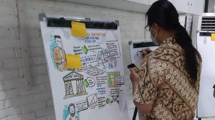 Kemenparekraf/Baparekraf ajak dan dorong para pelaku usaha parekraf untuk memperkuat kemitraan dalam hal promosi untuk meningkatkan citra parekraf melalui Wonderful Indonesia Co-branding Forum (WICF).