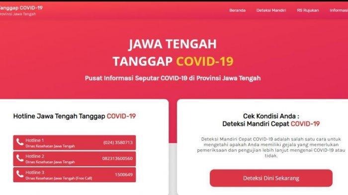 Hindari Hoaks, Berikut 35 Website Resmi Pemantau Covid-19 di Seluruh Kota, Kabupaten, di Jawa Tengah