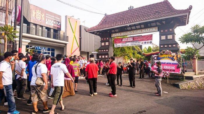 Sambut Hari Raya Nyepi 1942, Umat Hindu Kota Semarang Selenggarakan Jalan Sehat Lintas Agama
