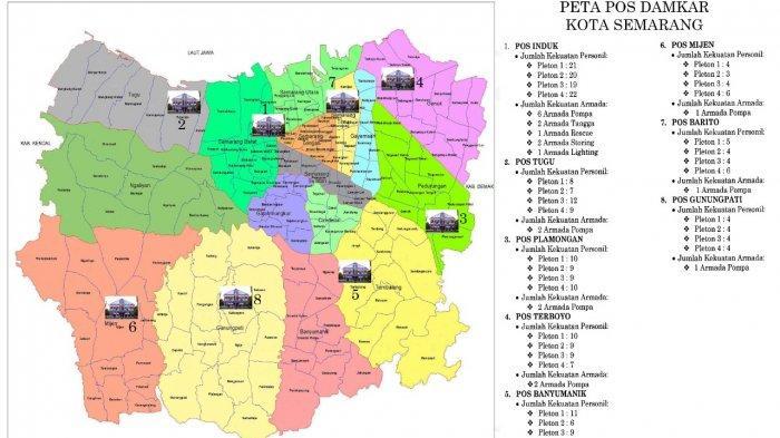 Pos Damkar di Semarang