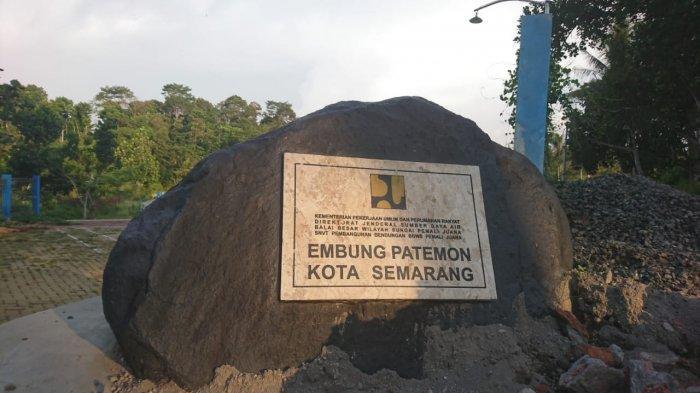 Prasasti Embung Patemon, Jumat (2/10/2020).
