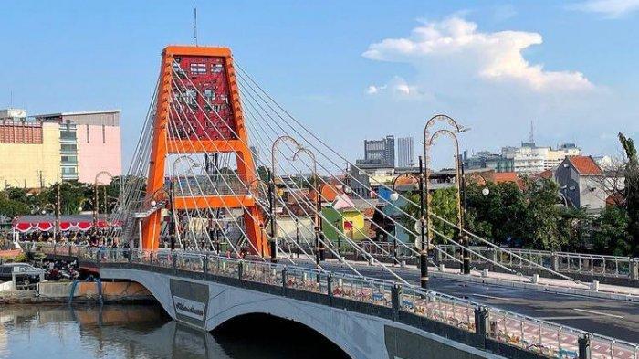Jembatan Sawunggaling Surabaya sudah dibuka untuk umum