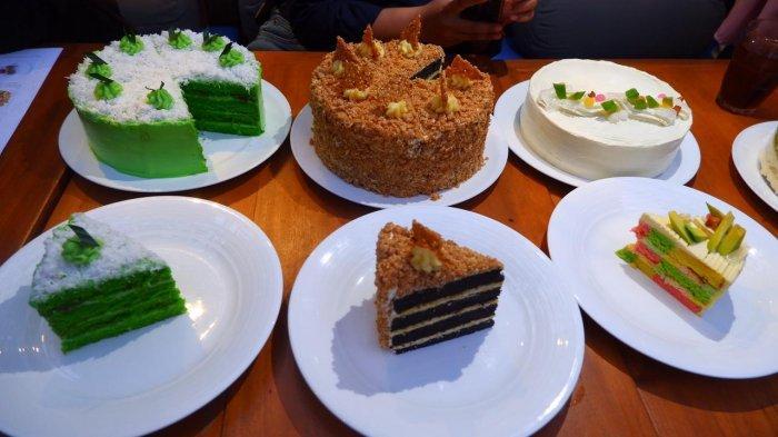Jejeran kue spesial Ramadan di Domicile Kitchen & Longue