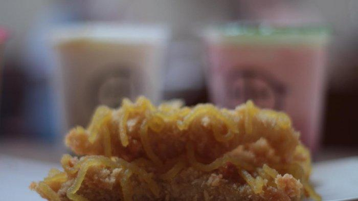 Menu pisang srikaya Manisae coffe and space