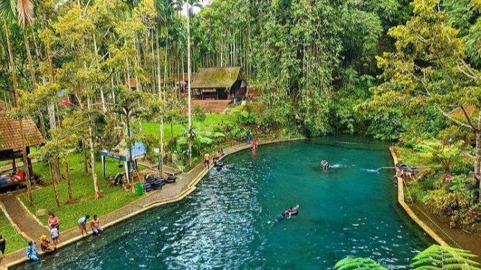 Wisata Sendang Seruni di Dusun Krajan, Tamansari, Licin, Kabupaten Banyuwangi, Jawa Timur. (@kurya_ngen melalui @ayodolan)