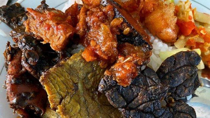 Nasi Madura di Warung Kongde Bubutan (@kulinersby)