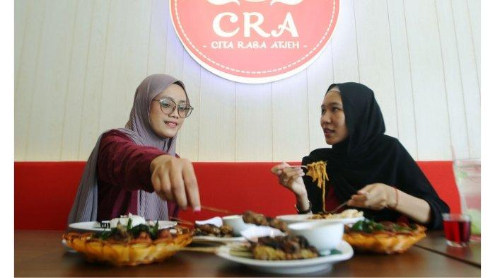 Menikmati menu spesial Aceh di Cita Rasa Atjeh (CRA) di Jalan Ahmad Yani Margorejo Surabaya