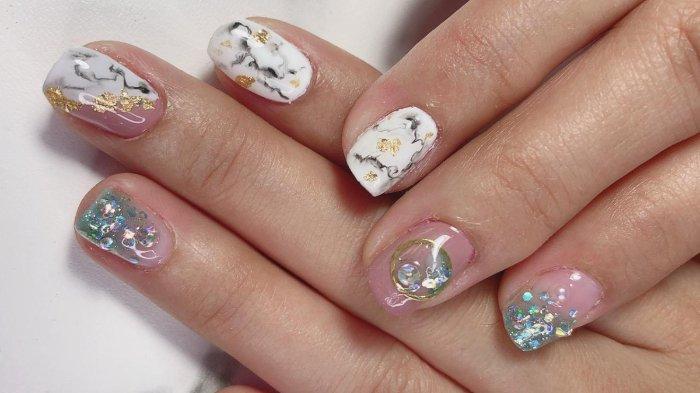Wedding nails by Regine Christya