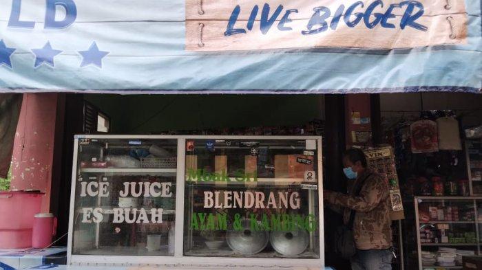 Suasana warung bubur blendrang Mbak Sri yang berada di Dusun Bintaro, Desa Gunungpring, Kecamatan Muntilan, Magelang.