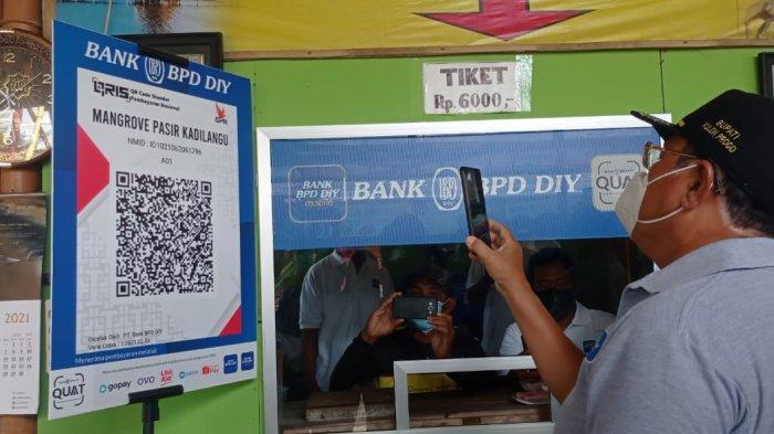 BPD DIY Perluas Akses Pembayaran Non Tunai via QRIS di Objek Wisata Kulon Progo