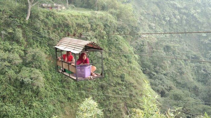Gondola Girpasang, Dari Transportasi Antar Dusun Jadi Daya Tarik Wisata