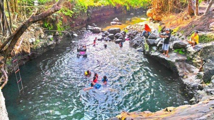 Daya Tarik Pemandian Mata Air Blue Lagoon di Sleman, Jernih dan Menyegarkan