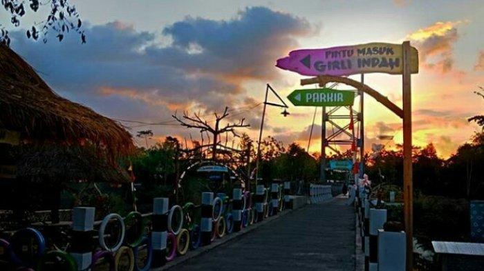 Kawasan wisata girli di Desa Sriharjo Bantul.
