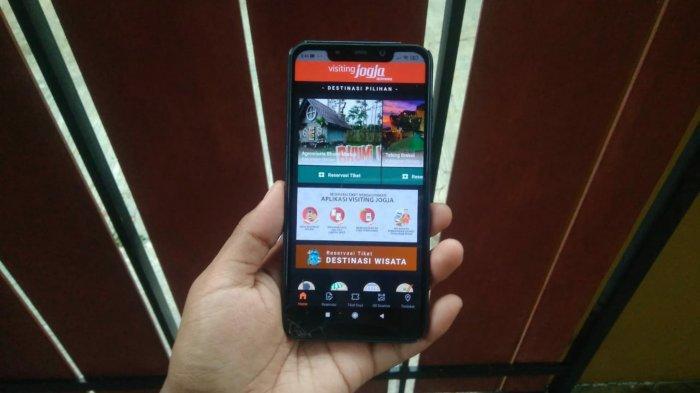 Pemesanan Tiket Destinasi Wisata Lebih Mudah Melalui Aplikasi Visiting Jogja