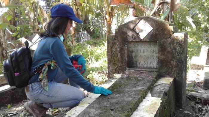 Ada Makam Tua Peninggalan Belanda di Asrama Bukit Balikpapan