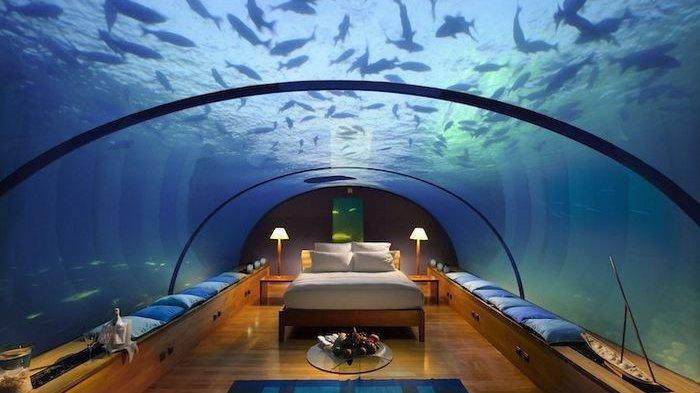 Begini Potret Mewah Hotel Bawah Laut di Maldives yang Tarifnya Mencapai Rp737 Juta per Malam!