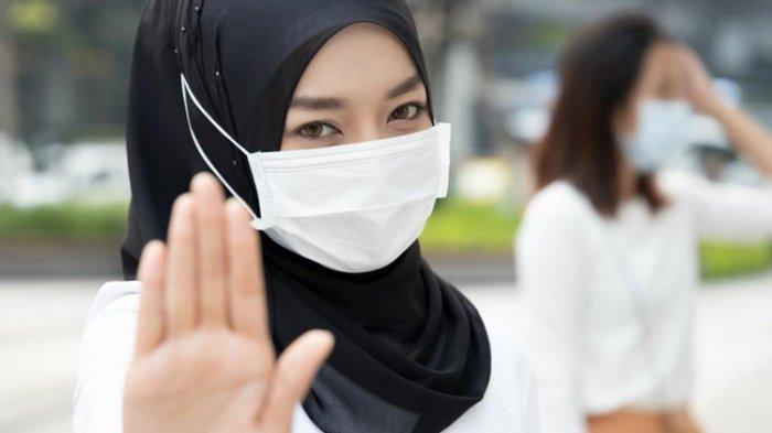 Jangan Turunkan Masker ke Dagu, Bahkan Saat Makan, Begini Penjelasan Pemerintah