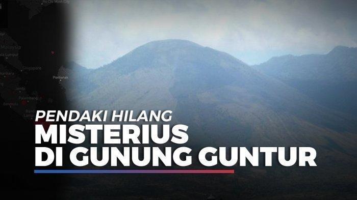 Pendaki Hilang Secara Misterius Selama 31 Jam di Gunung Guntur, Ditemukan Tanpa Pakaian