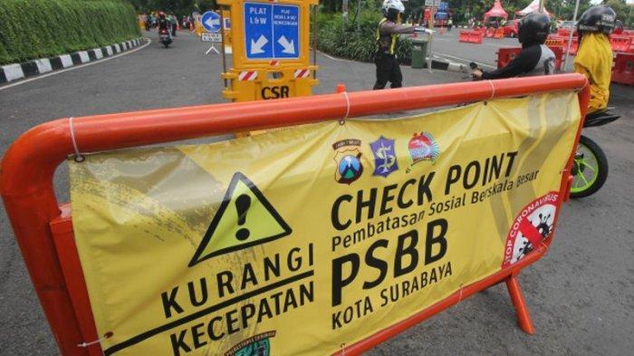 Masih dalam Zona Merah, PSBB di Surabaya Tidak Diperpanjang