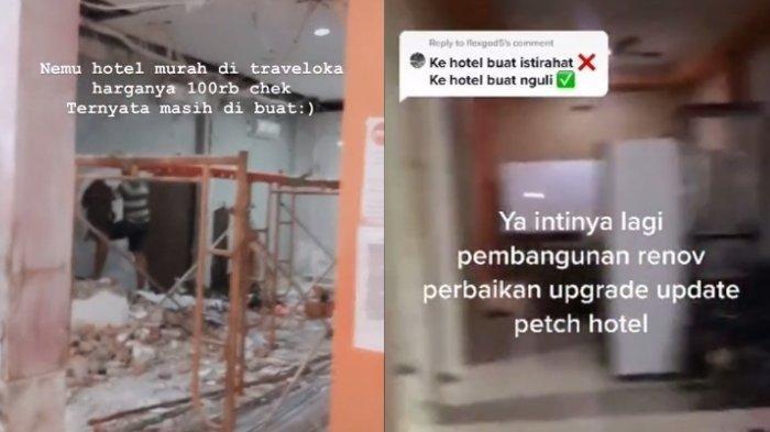 VIRAL Pria Ini Pesan Hotel Murah Rp 100 Ribu, Ternyata Masih Direnovasi
