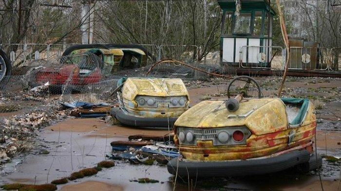 Chernobyl, Kecelakaan Terburuk Sepanjang Sejarah, 350 Ribu Penduduk Mengungsi