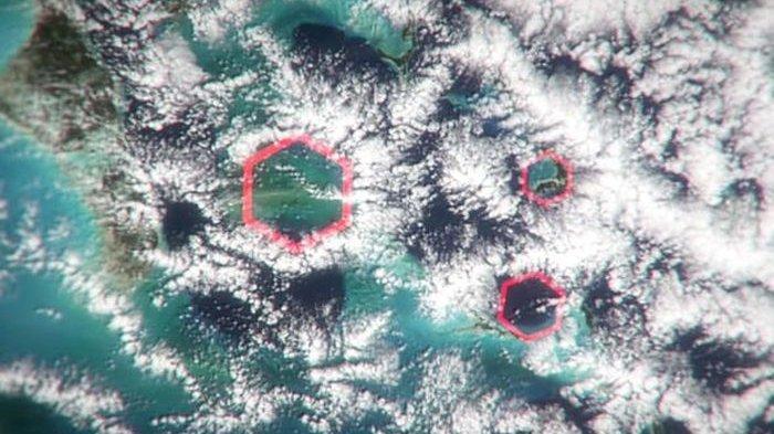 Lewat Citra Satelit, NASA Ungkap Munculnya Awan Aneh di Segitiga Bermuda