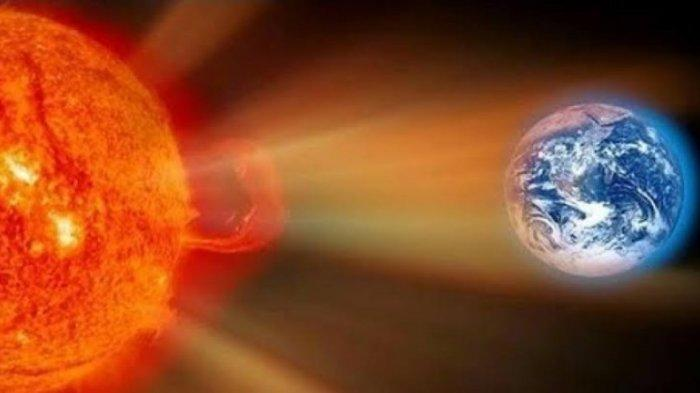 Badai Luar Angkasa Hujani Bumi dengan Elektron, Apa Dampaknya?