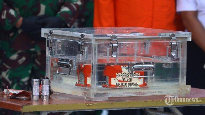 Perbedaan FDR dan CVR pada Black Box, Dipakai untuk Selidiki Penyebab Jatuhnya Sriwijaya Air SJ 182