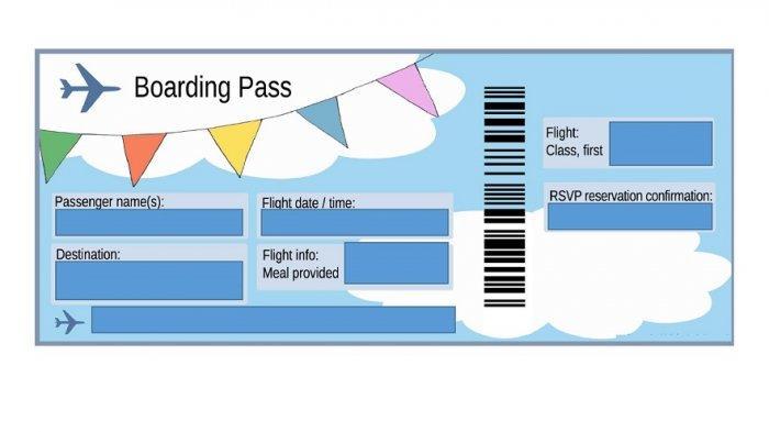 Arti Angka, Huruf dan Kode pada Boarding Pass Pesawat Terbang