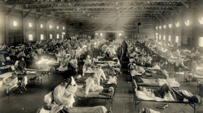 Tahun 1918, Flu Spanyol dari China, Tewaskan 50 Juta Orang
