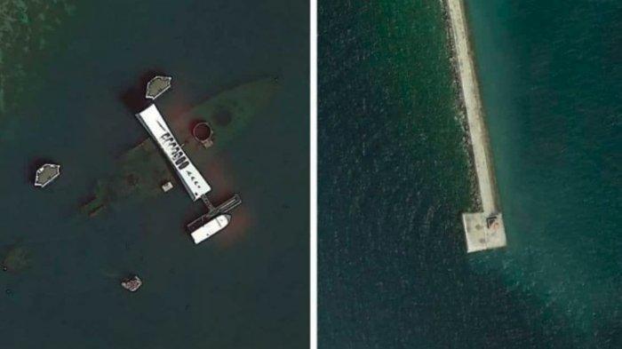 Foto-Foto Menarik yang Ditemukan Seorang Geologis di Google Earth