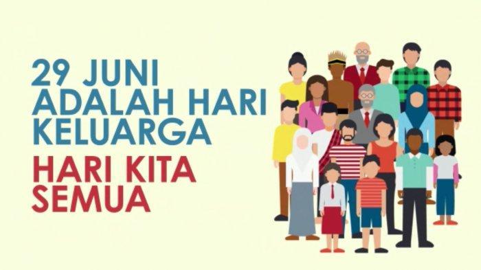 Mengapa Hari Keluarga Nasional Tidak Masuk Hari Libur? Berikut 4 Faktanya